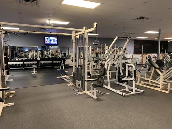 muscle max main gym area leland